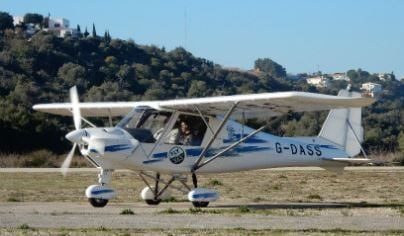 60 Minute Microlight Flying Lesson For ONE 1