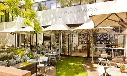 Afternoon Tea with Bubbly for Two at Urban Meadow Caf  Bar 1