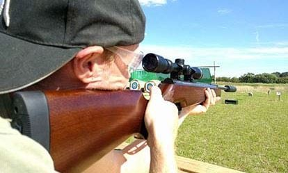 Air Rifle Shooting Experience with Exploding Targets 1