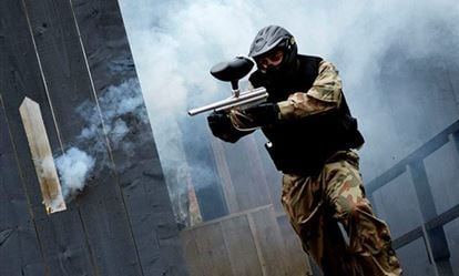 Junior Paintball Experience for Six 10 to 12 year olds 1