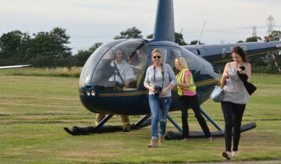 Tactical Helicopter Flying Lesson For THREE Exclusive 1