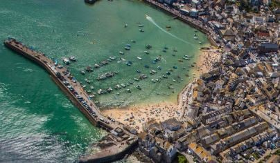 15 Min St Ives Bay Helicopter Tour For TWO 1