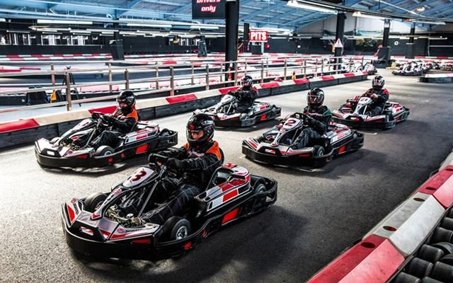 50 Lap Karting Race for Two - Half Price Special Offer 1