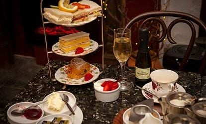 Afternoon Tea with Bubbly For Two at Katies Tearoom 1