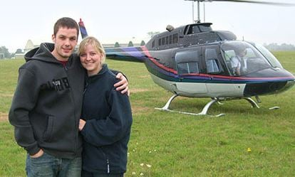 Blue Skies Helicopter Flight with Bubbly for Two 1