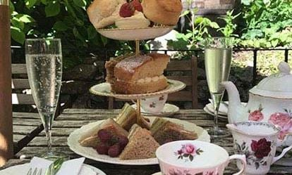 Celebration Afternoon Tea for Two at the Lion Rock Tea Room 1
