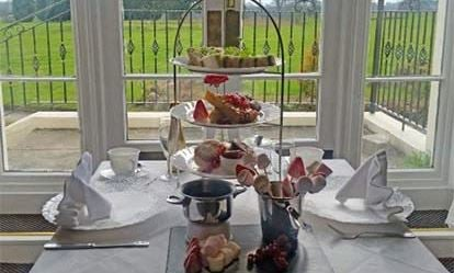 Champagne Afternoon Tea for Two at The Haughton Hall Hotel 1