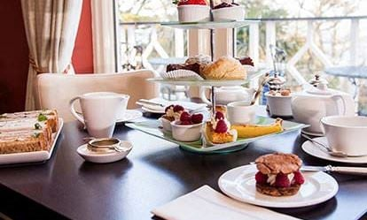 Champagne Afternoon Tea for Two at The Orestone Manor Hotel 1