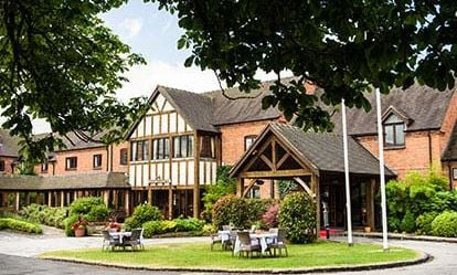 Country House Retreat for Two at The Moat House Staffordshire 1