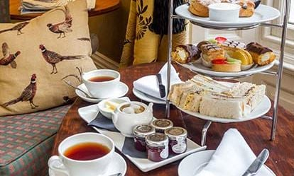 Deluxe Afternoon Tea for Two at The Grovefield House Hotel 1