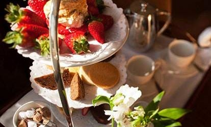 Deluxe Afternoon Tea for Two at The White Swan Hotel 1