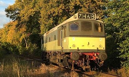 Drive a Heritage Diesel Train 1