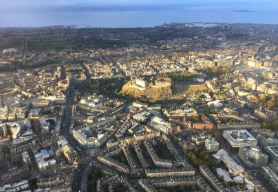 Extended City of Edinburgh Helicopter Tour For TWO 1