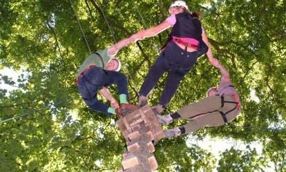 Family High Ropes Experience 1