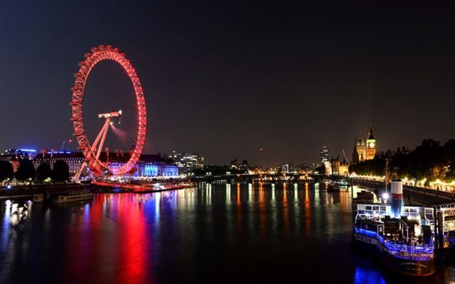 London Eye  Lunch Cruise for Two 1