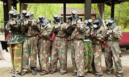 Teen Paintballing for Two 1