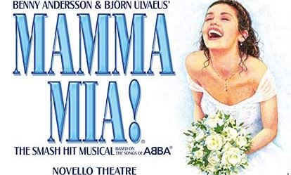 Top Price Tickets to Mamma Mia and a Meal for Two 1
