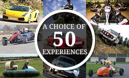 Ultimate Choice for Driving - Gift Experience Voucher 1