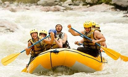 White Water Rafting for 6 People 1