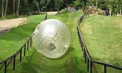 Zorbing and Paintball Combo for Two 1