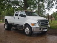 Ford F650 Super Duty Pick Up Driving Experiences