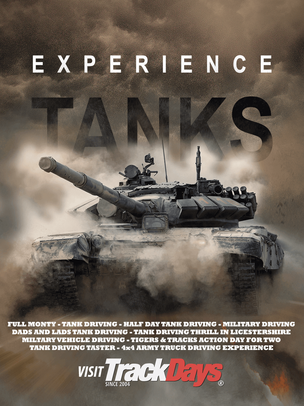 Experience Tank Driving