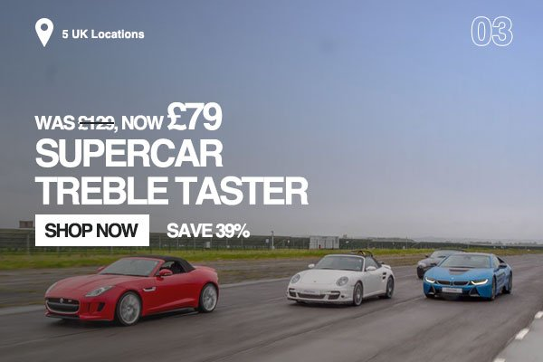 Supercar Treble Taster
