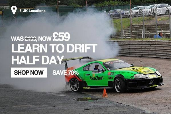 Learn To Drift Half Day