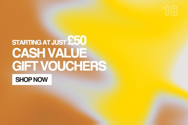 Cash Value Gift Vouchers