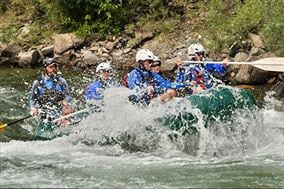 Whitewater Rafting Experience Days