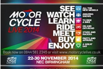 Ticket Information for Motorcycle Live 2014
