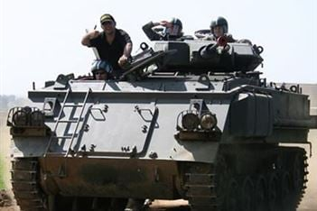 A tank is not just for Christmas - The ultimate off-road experience