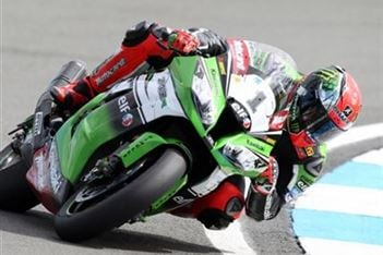 Britain's Tom Sykes comes out on top at Laguna Seca