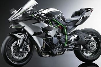 Ninja H2R images released! 295hp track weapon!