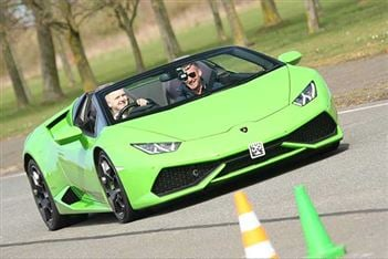 The fast and the curious…now kids are driving Lamborghinis