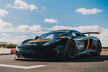 New McLaren MP4 12C GT3 Driving Experience available in Hertfordshire