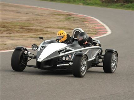 Ariel Atom experience now at Mira Test track