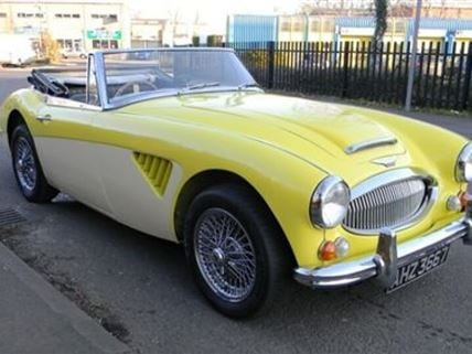Austin Healey 3000 Driving Experience