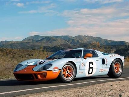 Drive a Ford GT40 - New Experience