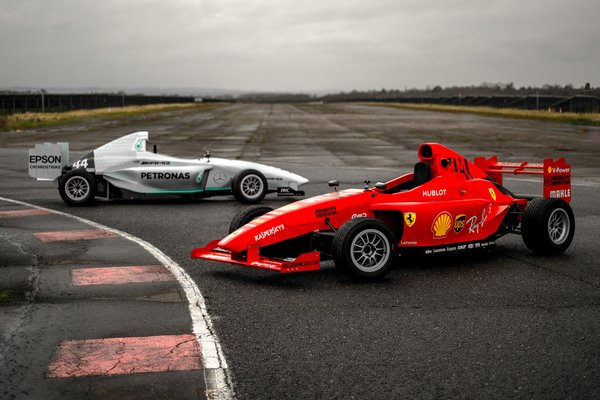 Get in pole position with Single Seater racing car days