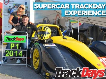 New Super Car Track Day Package Available for just £99