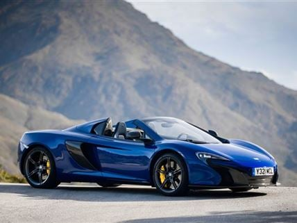 We just took delivery of our new McLaren 650s!