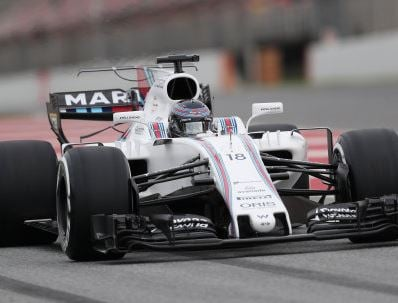 Williams youngster crashes out in pre-season testing