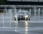 Wet Grip area at Rockingham open on track days