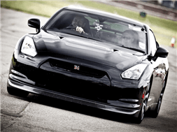 Nissan GTR Driving At Top Uk Race Circuits