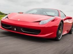 Ferraris or flowers? Treat your partner to some excitement this Valentine's Day