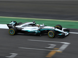 Hamilton gets to grips with Mercedes latest F1 offering