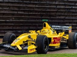 Rare opportunity to drive a genuine Jordan F1 race car