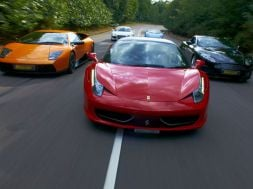 Supercar Driving Experience Christmas Offers