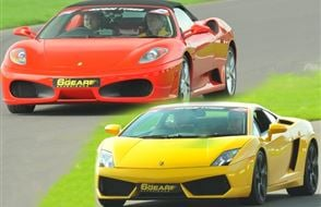 Double Supercar Thrill (Premium) Experience from Trackdays.co.uk